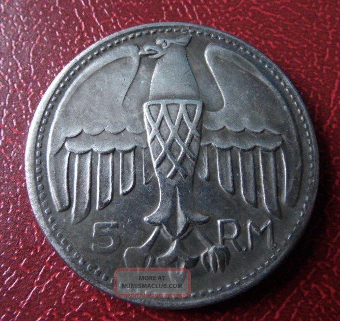 1935 hitler coin value