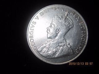 1922 5 Cents Canada Coin.  800 Silver L@@k Great Coin photo