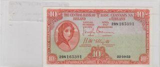 Ireland 10 Shilling 1952 56 - B photo