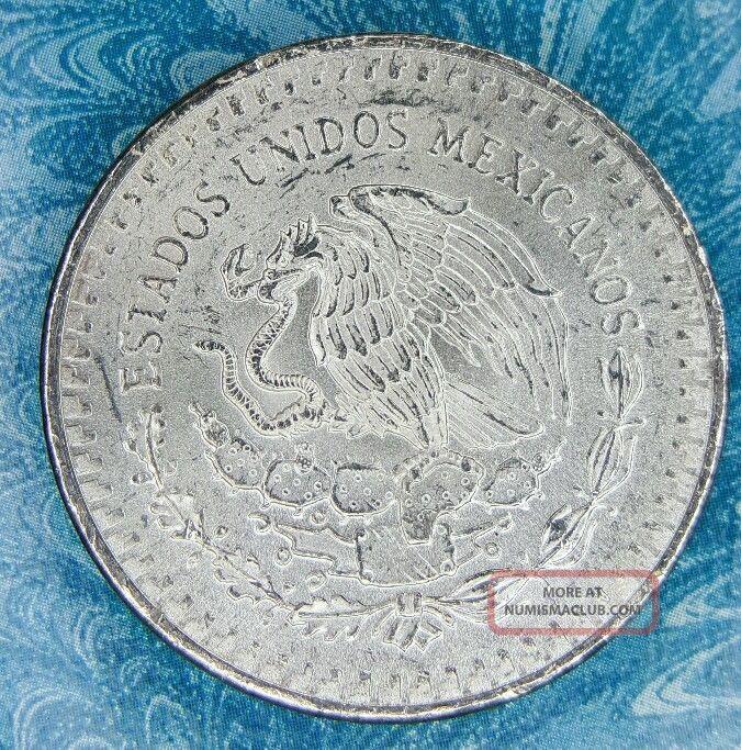 1982 1 Oz 999 Fine Silver Mexico Libertad Onza Bu
