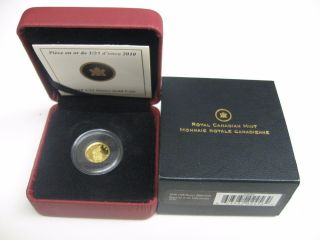 Canada 2010 Royal Canadian Mounted Police 50 Cent 1/25 Ounce 999 Gold Proof Coin photo