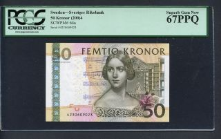 Tt Pk 64a 2004 Sweden 50 Kronor