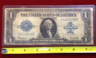1923 $1.  00 Bill,