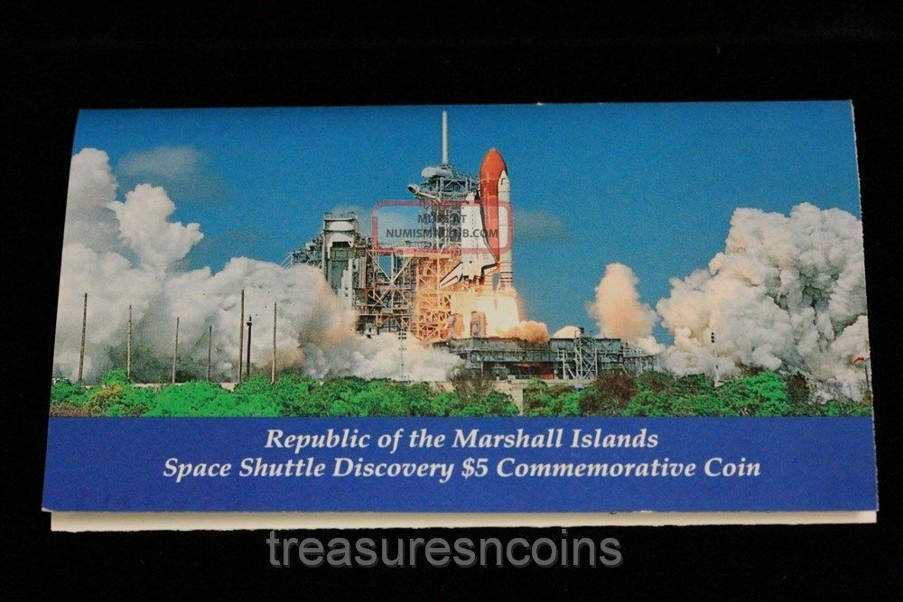 space shuttle discovery 5 dollar coin worth - photo #45
