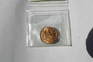 1911 ::iccs Ms 65 Red::landon Canada Large Cent:: Exceptional Lustre::xlc725 photo