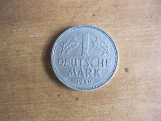 1950 - D German Deutsche Mark - 1st Year Of Issue W/bundesrepublik Deutschland photo