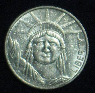 Statue Of Liberty Souvenir Token Nickel 1