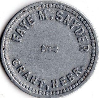 Grant Nebraska Merchant Good For Trade Token photo