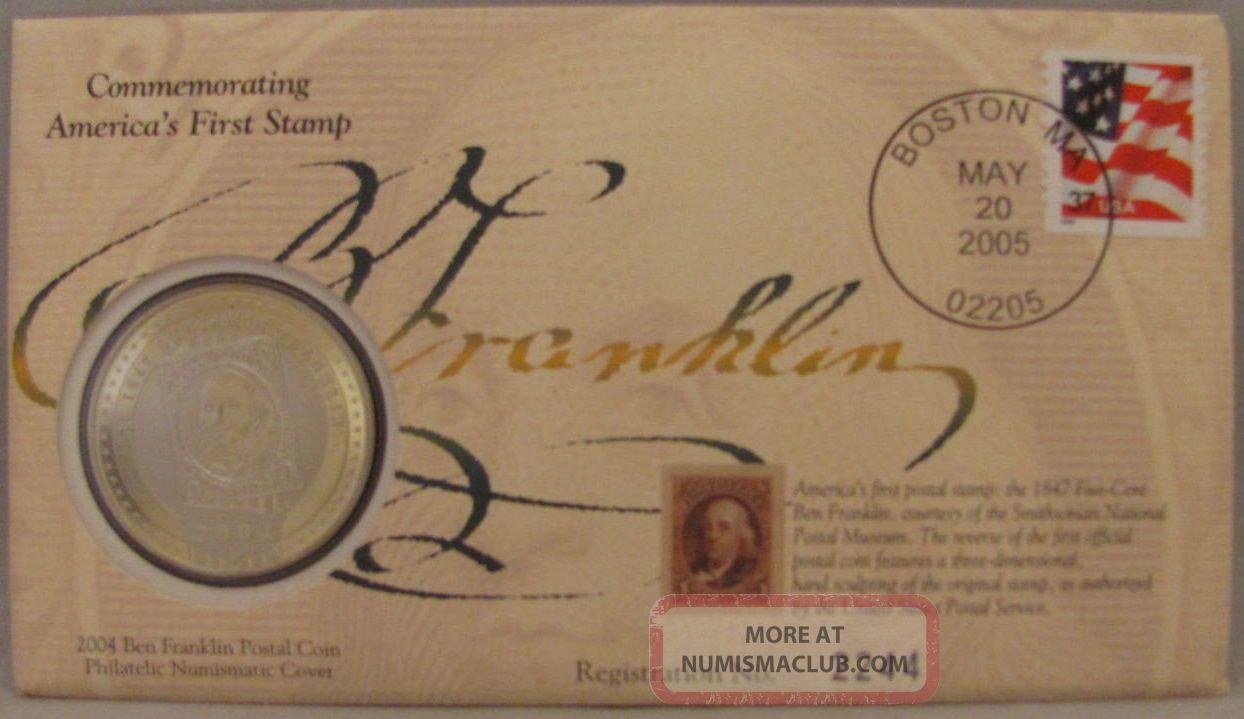 2004 Ben Franklin Postal Coin