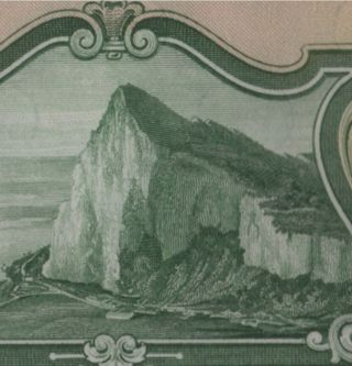 Gibraltar.  1 Pound.  3.  10.  1958.  P - 15c.  Pcgs Gem 66 Ppq. photo