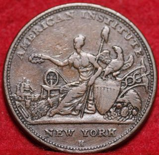 1833 Copper Hard Times Token photo