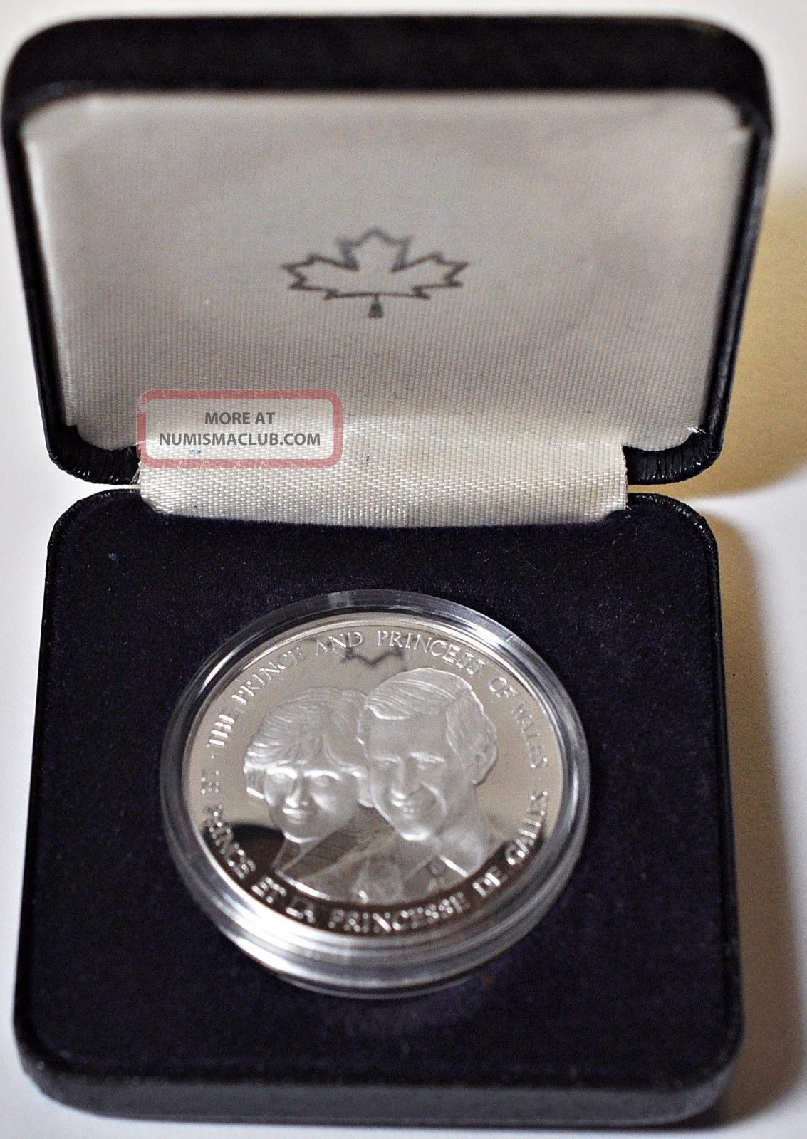 1983 Prince Amp Princess Of Wales Sterling Silver Canada