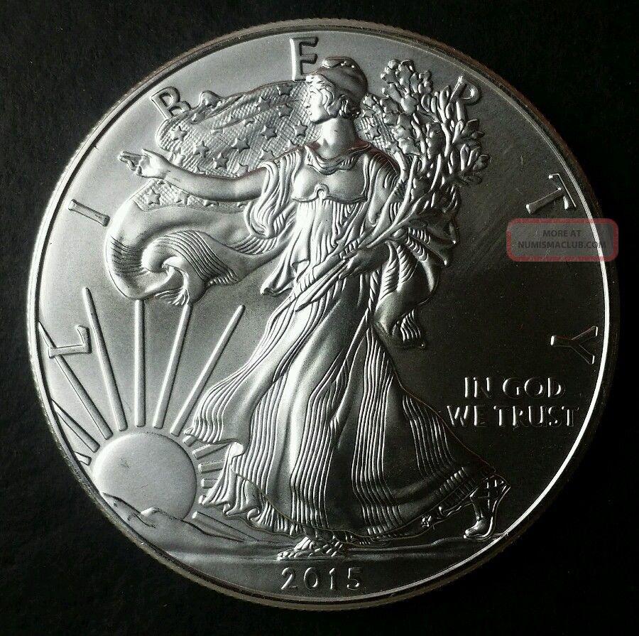 2015 1 American Silver Eagle Dollar