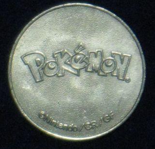 Pokemon Token [authentic Nintendo /cr / Gf] Collectible photo
