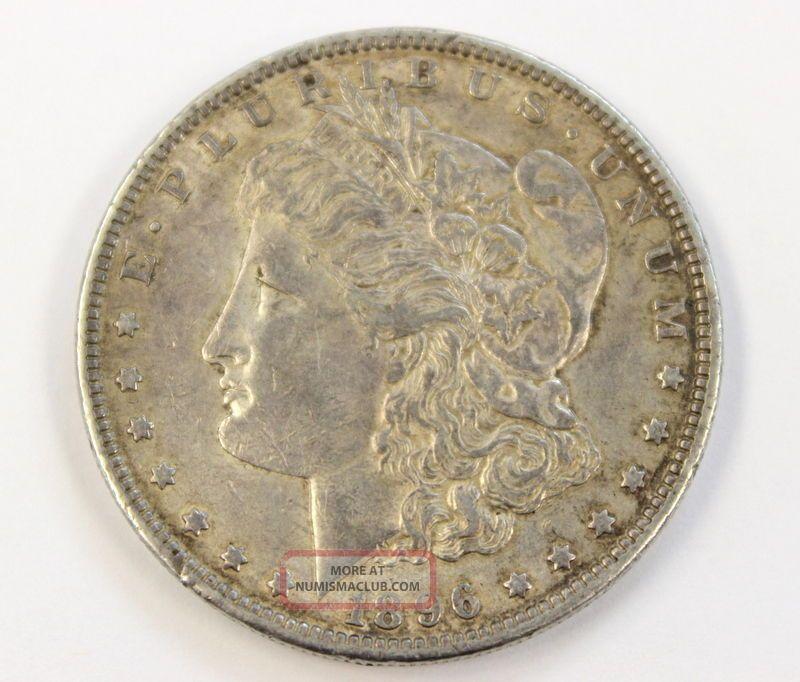 1896 Morgan Dollar Silver Coin 1