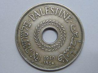 1940 Palestine 20 Mils / Palestina photo
