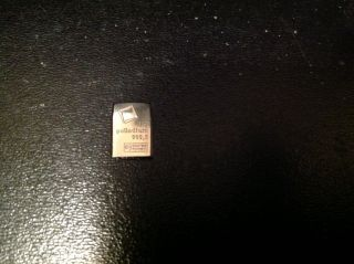 1 Gram Palladium Bar 999.  5 photo