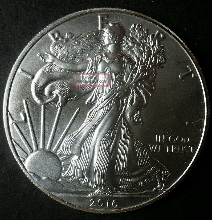 2016 1 American Silver Eagle Dollar