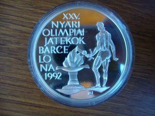 Hungary 500 Forint Otszaz 1989 1992 Barcelona Olympics 316 photo
