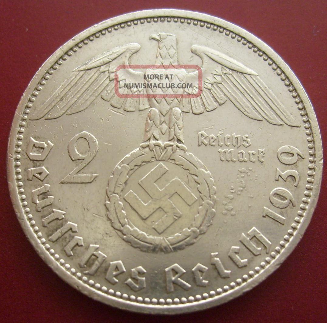 1939 german coin