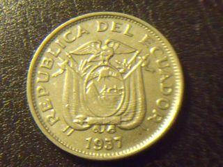 Ecuador 20 Centavos,  1937 - Coin - photo