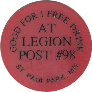 Legion Post 98 - Good For 1 Drink photo