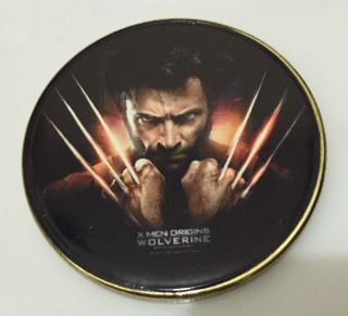 1 Oz Hugh Jackman The Wolfverine Finished In 24k Gold Coloured Clad Coin photo