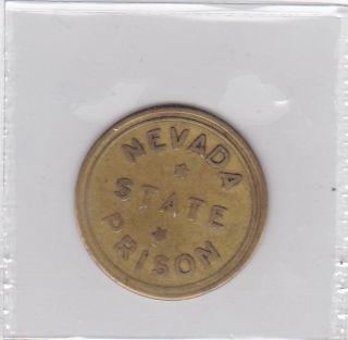 1945 - Nevada State Prison 50 Cent Trade Token photo