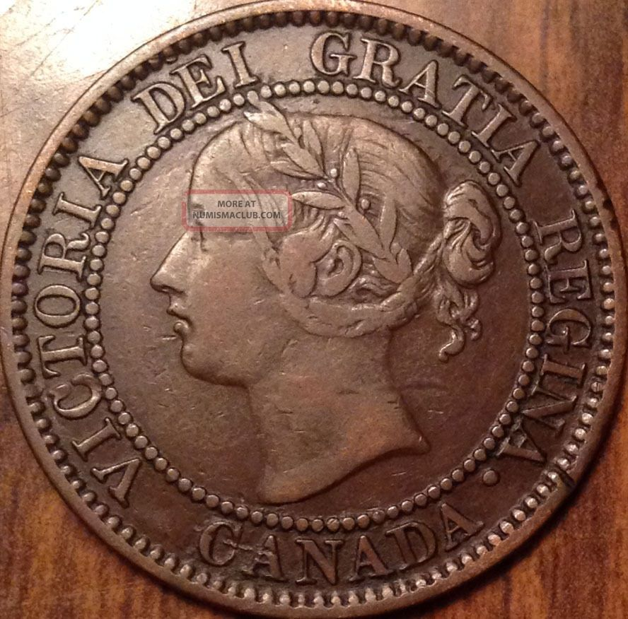 1859 Canada Large Cent Great Penny In Have A Look