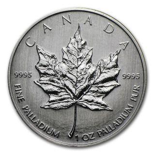 2009 Canada Palladium Bu photo