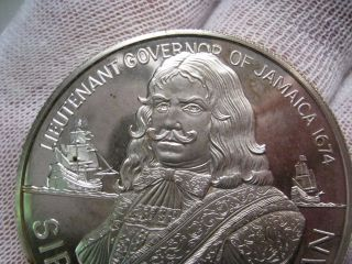 1974 Proof Silver $10.  00 Sir Henry Morgan Coin.  Asw 1.  2728 Troy Oz.  Mint; 42k photo