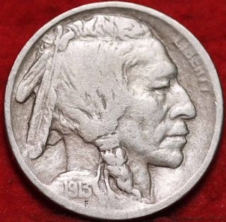1913 - S San Francisco T1 Buffalo Nickel photo