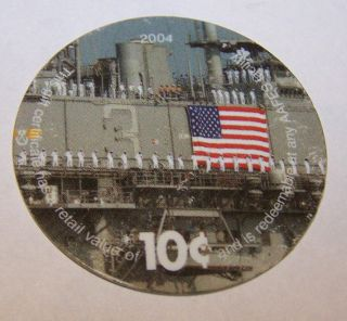 4e10 Aafes Pog From 2004 Printing Fine To A.  U. photo