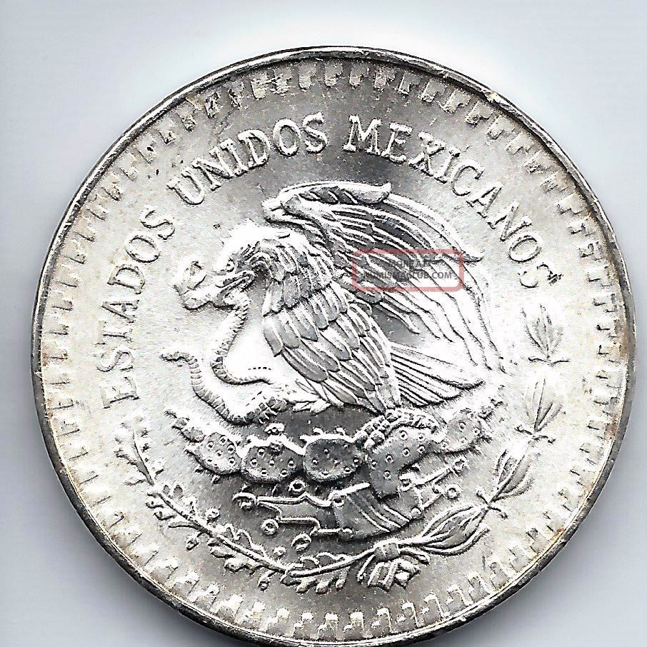 Mexico Silver Onza Troy Ounce Of Silver 1985 Libertad