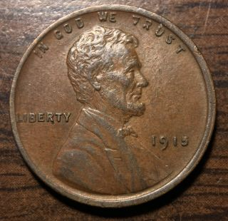 1915 1c Bn Lincoln Cent photo