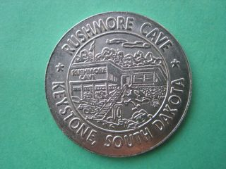 Rushmore Cave Black Hills Keystone South Dakota Souvenir Token Coin 1125 - 4 photo
