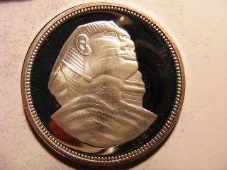 Egypt 5 Pounds,  1993,  Sphinx,  Silver Proof photo