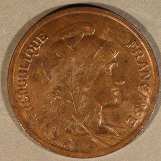 1921 France 10 Centimes U.  S. photo