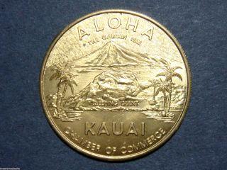 Hawaii,  Kauai Dollar - Chamber Of Commerce Medal/token - Bu photo