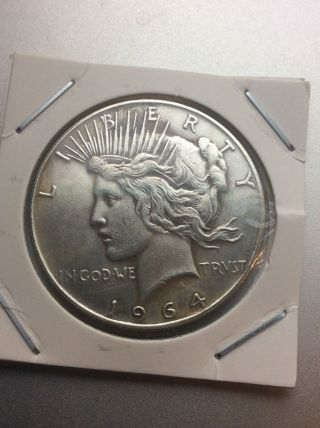 1964 D Peace Dollar - - Fantasy Date Never Released By photo