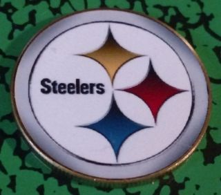 Nfl Pittsburgh Steelers Bx562 Colorized Art Round photo