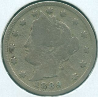 1889 Liberty Nickel (1618591) photo
