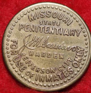 Missouri State Penitentiary Token photo