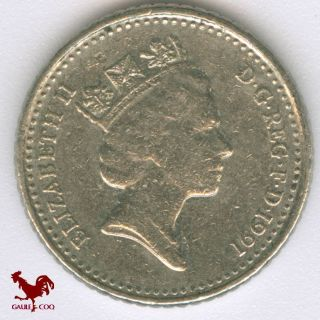 United Kingdom - Great Britain England - 1991 5 Pence Coin No.  4 Money photo