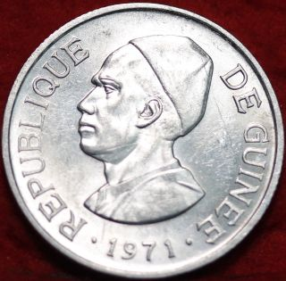 Uncirculated 1971 Guinea 2 Sylis Foreign Coin S/h photo