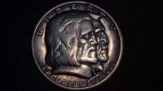1936 Long Island Tercentenary Commemorative Silver Half Dollar photo