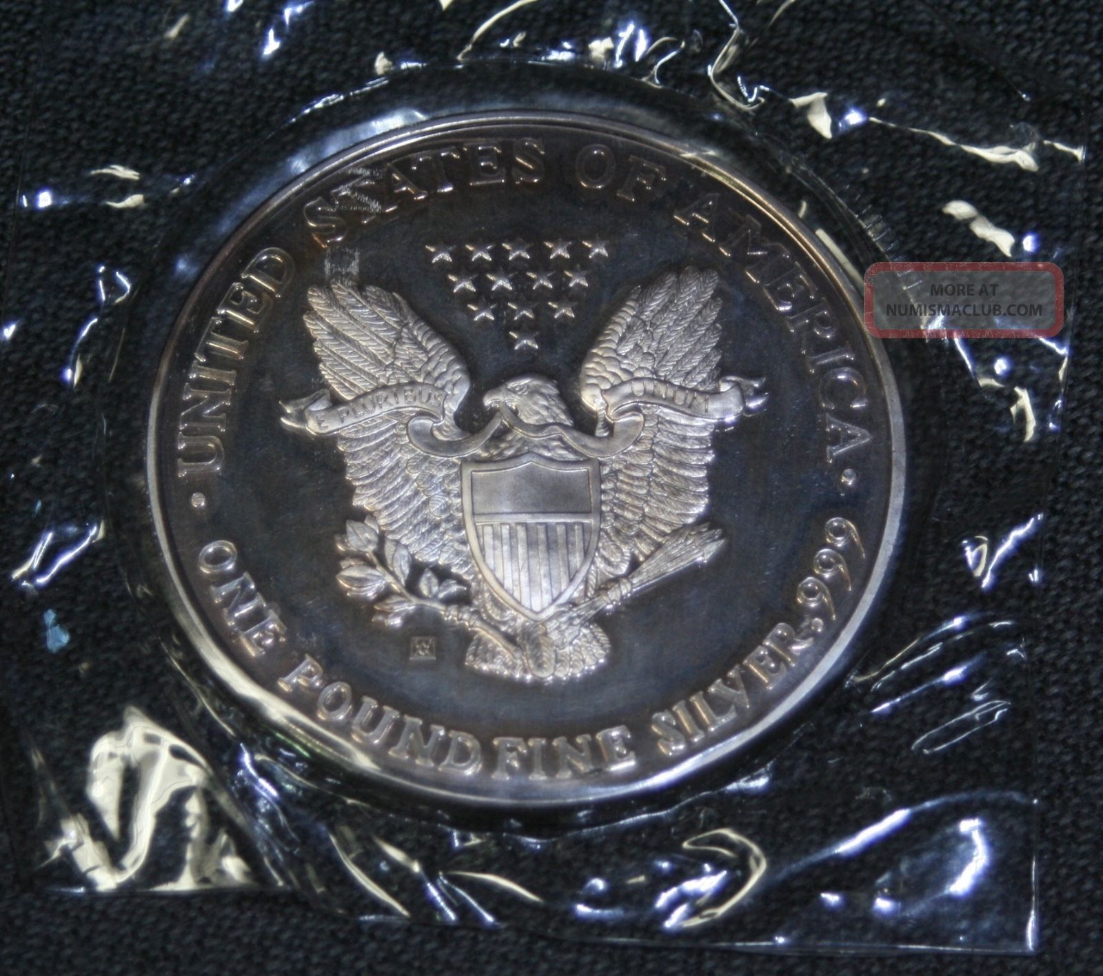 1992 Silver Eagle One Full Pound 999 Fine Silver 16 Troy