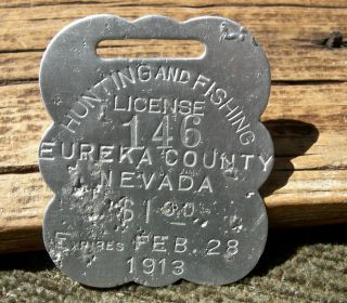 Exonumia tokens us trade price and value guide for Fishing license nevada