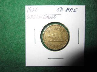 Greenland 50 Ore,  1926 photo