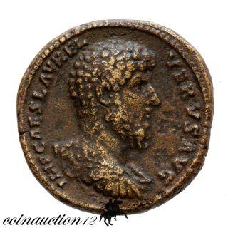 Roman Ae Sestertius Lucius Verus Galley,  Struck 162/3 photo
